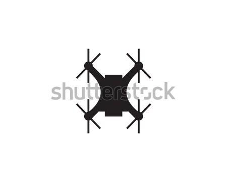 Logo symbool business technologie radio robot Stockfoto © meisuseno