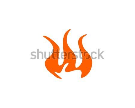 fire logo Stock photo © meisuseno
