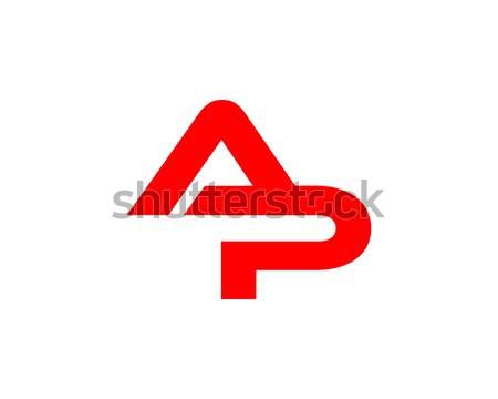 Zdjęcia stock: List · logo · symbol · formularza · połączenie · litery