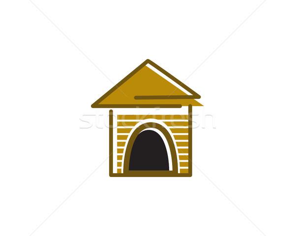 pet house logo Stock photo © meisuseno