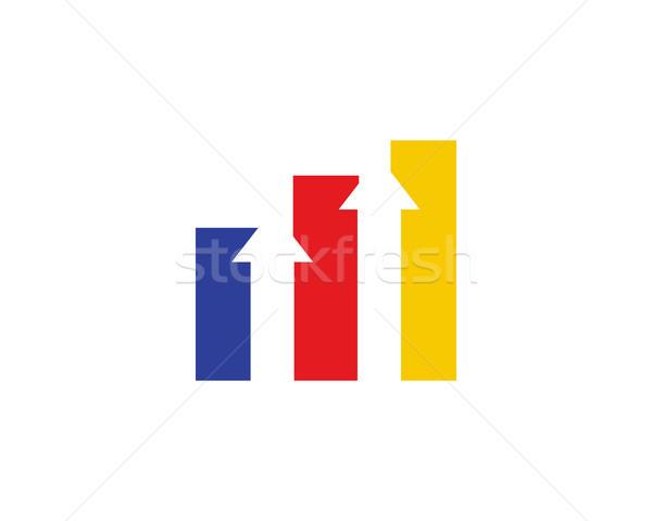 Negócio traçar logotipo símbolo tecnologia música Foto stock © meisuseno