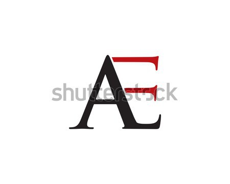 a letter logo Stock photo © meisuseno