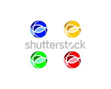 Stockfoto: Logo · symbool · vorm · abstract · cirkel