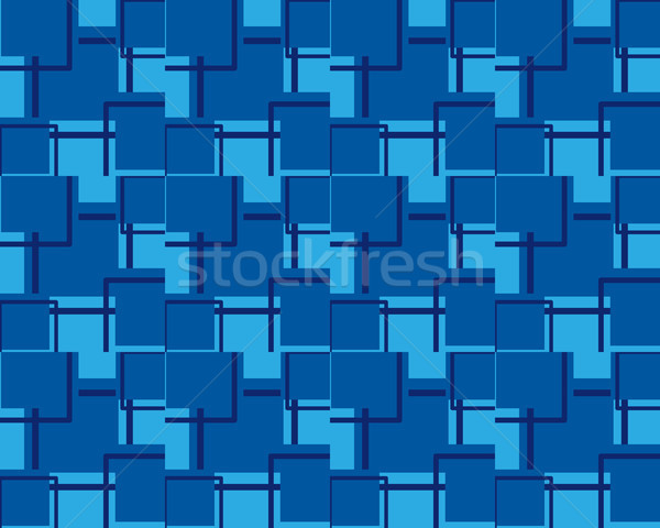 seamless pattern background of square shape Stock photo © meisuseno