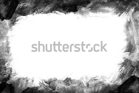 Grunge paint background - Frame Stock photo © melking