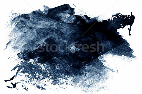 Blue abstract paint Stock photo © melking