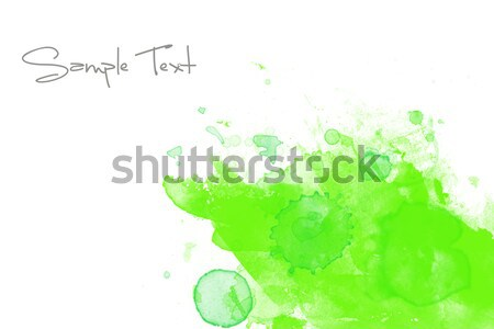 Green abstract illustration Stock photo © melking