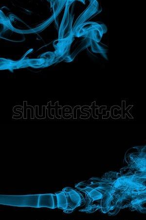 Soyut duman sanat dizayn model yangın Stok fotoğraf © melking