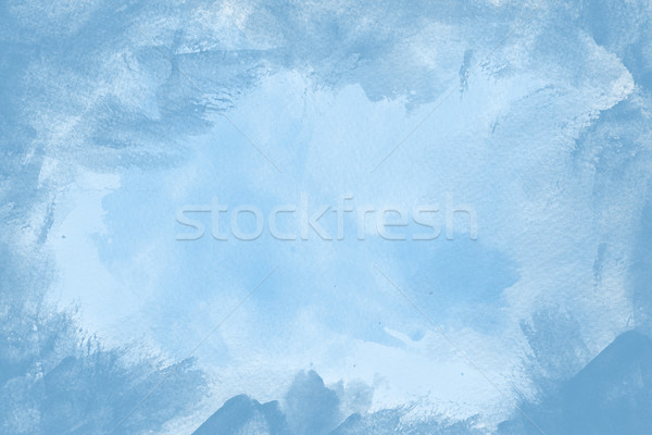 Blue grunge paint background Stock photo © melking