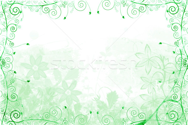 Abstract Flower Background Stock photo © melking