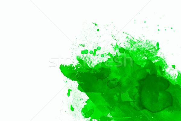 green abstract illustration with white space for design  Stock photo © melking