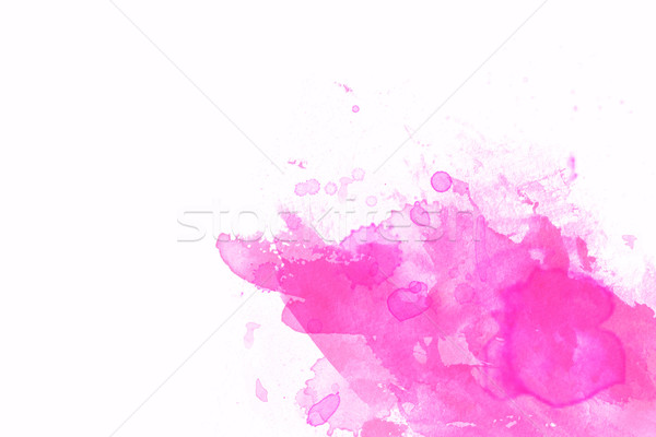 Pink abstract illustration with white space for design  Stock photo © melking
