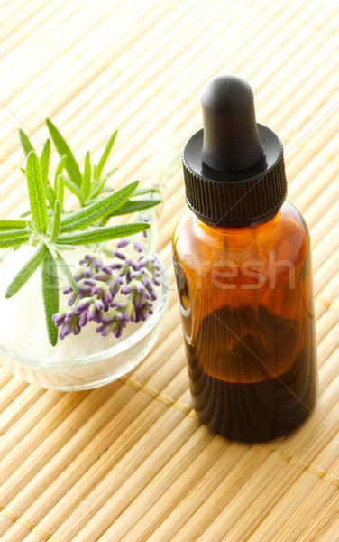 essential oil dropper bottle Stock photo © Melpomene