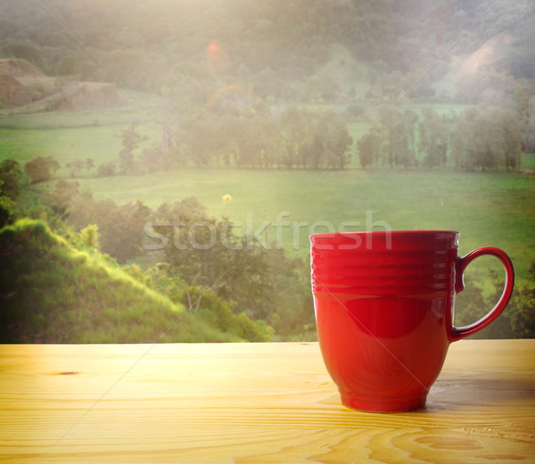 Wake up and Smell the Coffee Stock photo © Melpomene