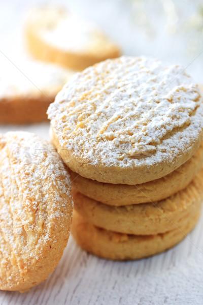 Cookies сахарная пудра белый Sweet Сток-фото © Melpomene