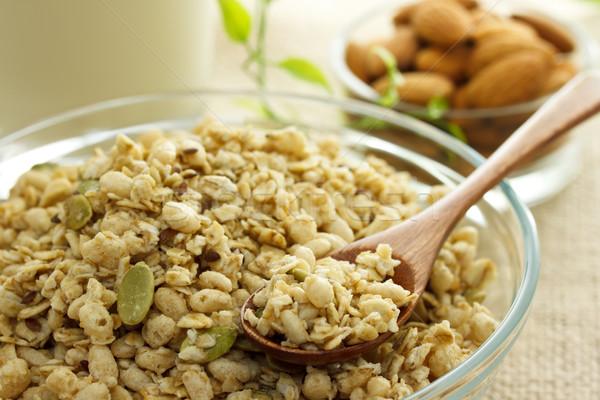 Whole grain cereal  Stock photo © Melpomene