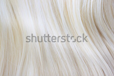 Blonde Hair Stock photo © Melpomene