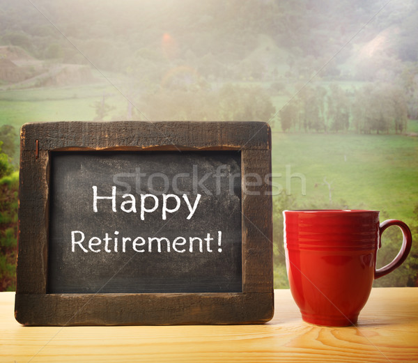 Enjoy your Retirement! Stock photo © Melpomene