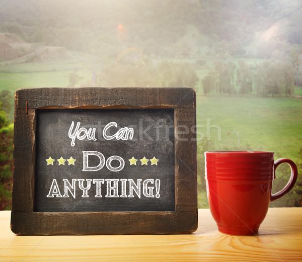You Can Do Anything! Stock photo © Melpomene