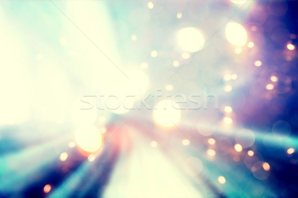 Abstract blue and purple light background Stock photo © Melpomene