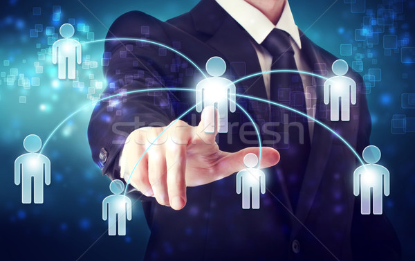 Social Network Concepts Stock photo © Melpomene
