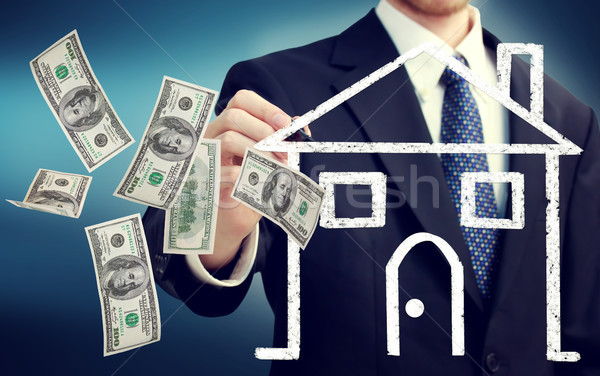 Stock photo: Buying or Selling a House Concept