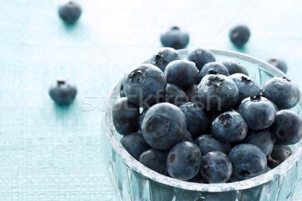 Fresh blueberries Stock photo © Melpomene
