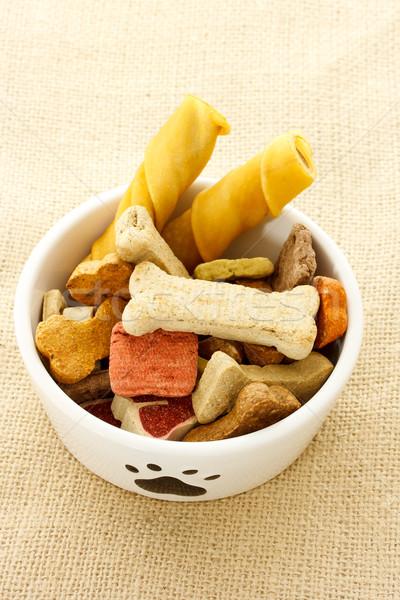 Dog food in dog bowl  Stock photo © Melpomene