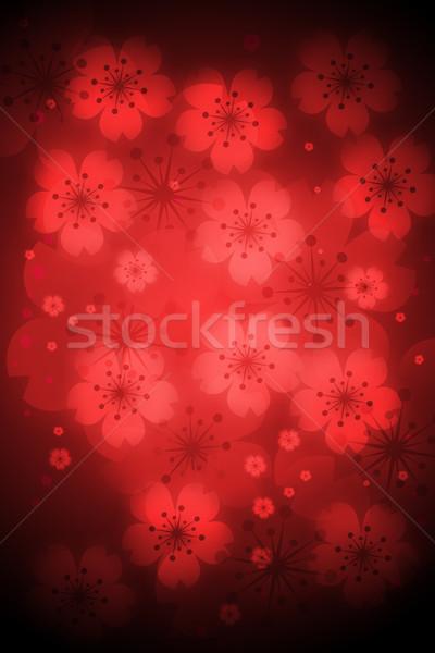 Rood gekleurd abstract licht texturen Stockfoto © Melpomene