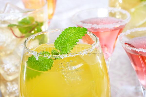 Margaritas with Salt Stock photo © Melpomene