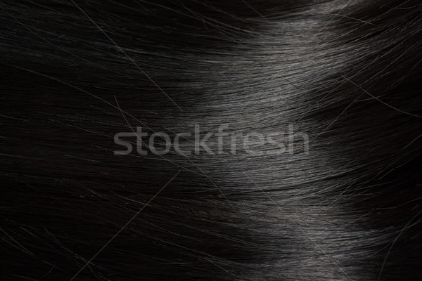 Beautiful black hair Stock photo © Melpomene