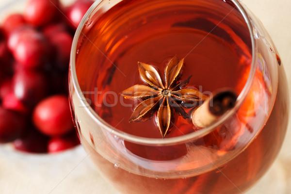 Beber estrela anis canela em pau Foto stock © Melpomene