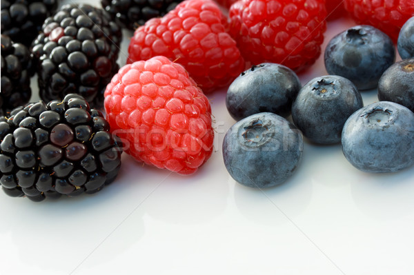 Fresh Berries Stock photo © Melpomene