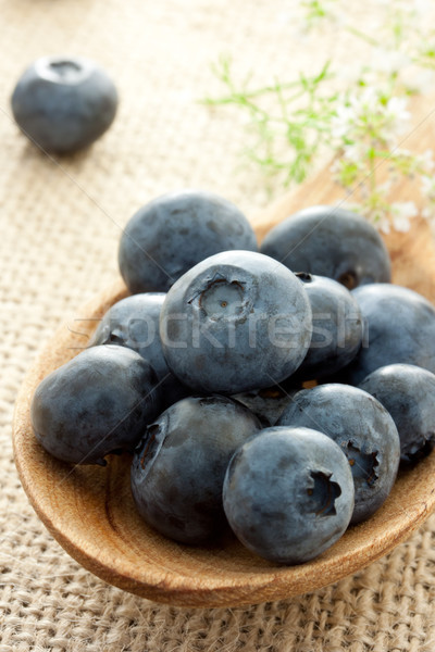 Fresh blueberries  Stock photo © Melpomene