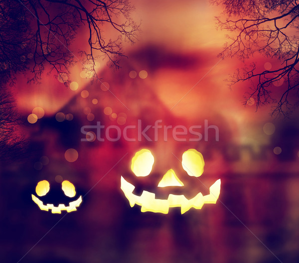 Halloween Pumpkins Stock photo © Melpomene