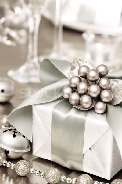 Christmas Gift Box Stock photo © Melpomene