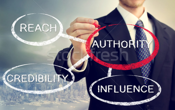 Stock photo: Authority and its sources