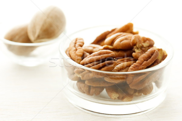 Pecan nuts Stock photo © Melpomene