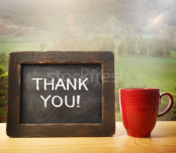 Thank You! Stock photo © Melpomene
