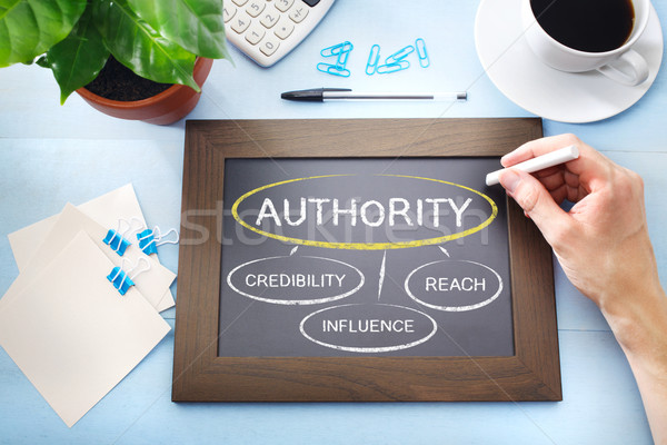 Sources of Authority Stock photo © Melpomene