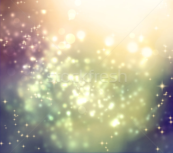 Mixed colored abstract shiny light gradient background Stock photo © Melpomene