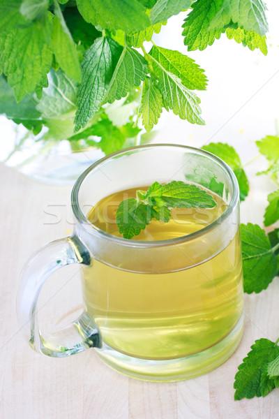 Mint tea  Stock photo © Melpomene
