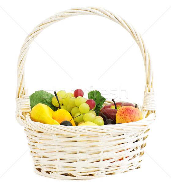 Fruit basket Stock photo © MichaelVorobiev