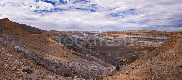 Copper mine Stock photo © MichaelVorobiev