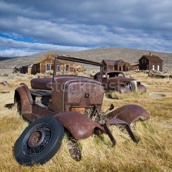 Velho carros Foto stock © MichaelVorobiev