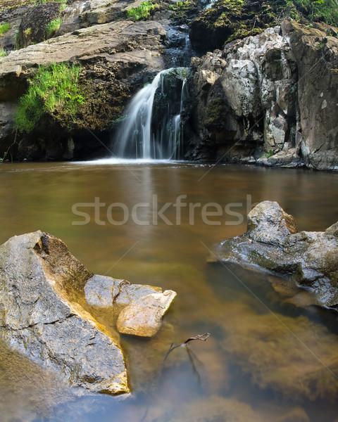 Cachoeiras sul da austrália água pedras Austrália Foto stock © MichaelVorobiev