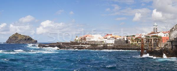 Garachico, Tenerife island, Spain Stock photo © MichaelVorobiev