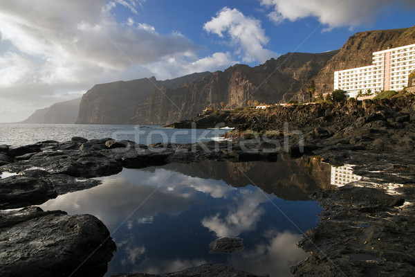 Los Gigantes, Tenerife Stock photo © MichaelVorobiev