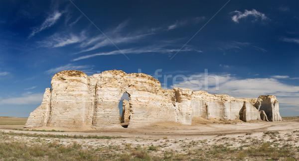 Kayalar Kansas doğa manzara zemin doğal Stok fotoğraf © MichaelVorobiev