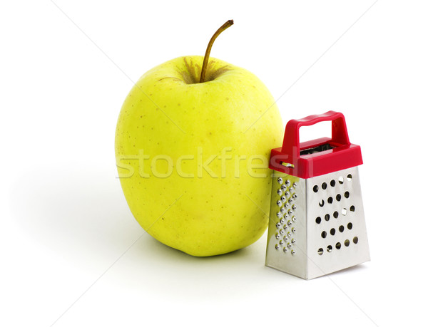 Apple and grater Stock photo © MichaelVorobiev